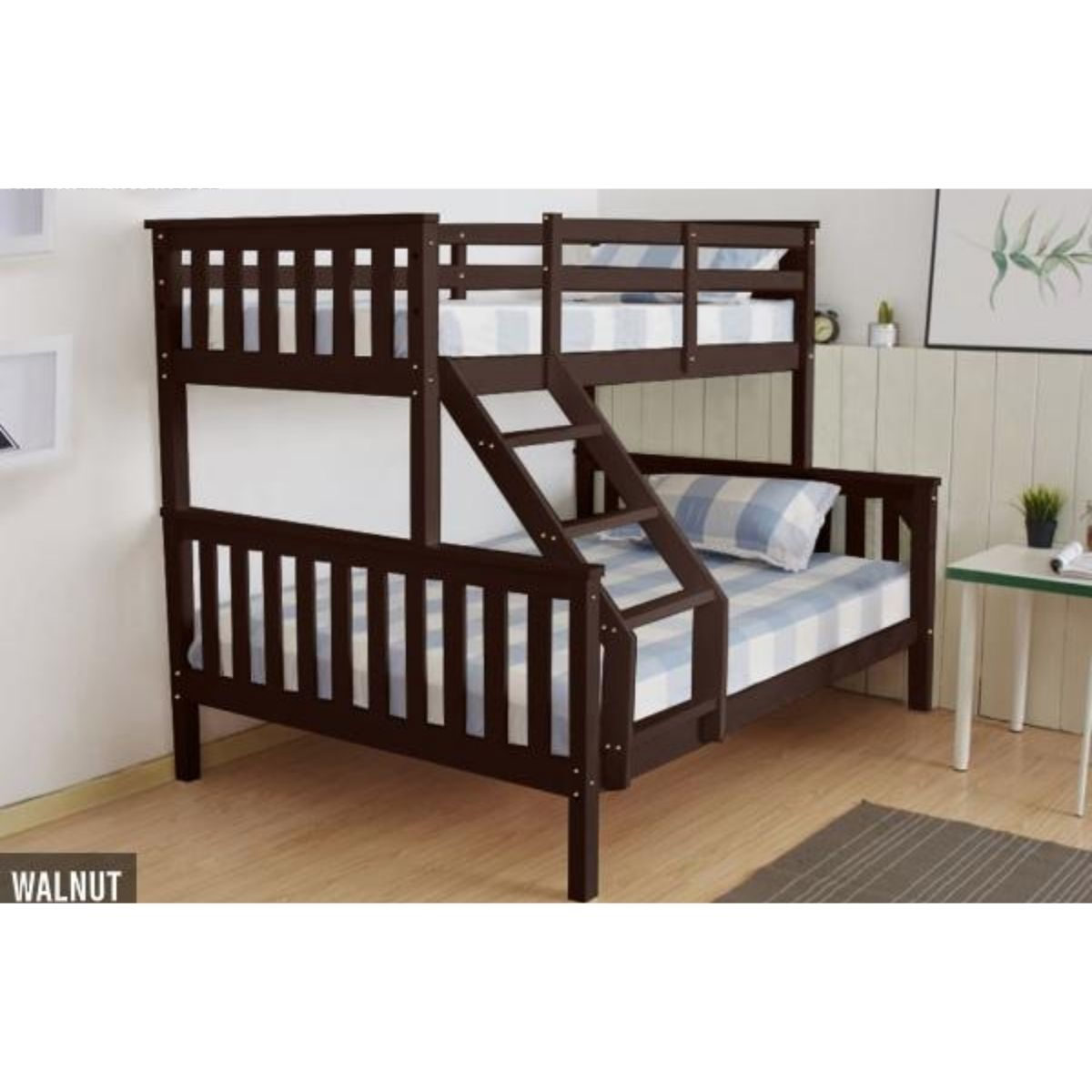 Picture of: Chico Wooden Triple Bunk With Mattress Premium Deals